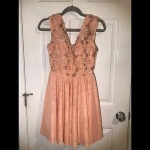 Emerald Sundae Sequin Dress